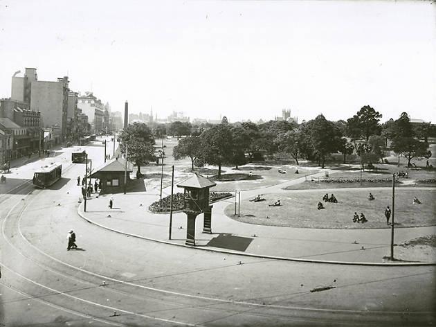Sydney myths, Hyde Park