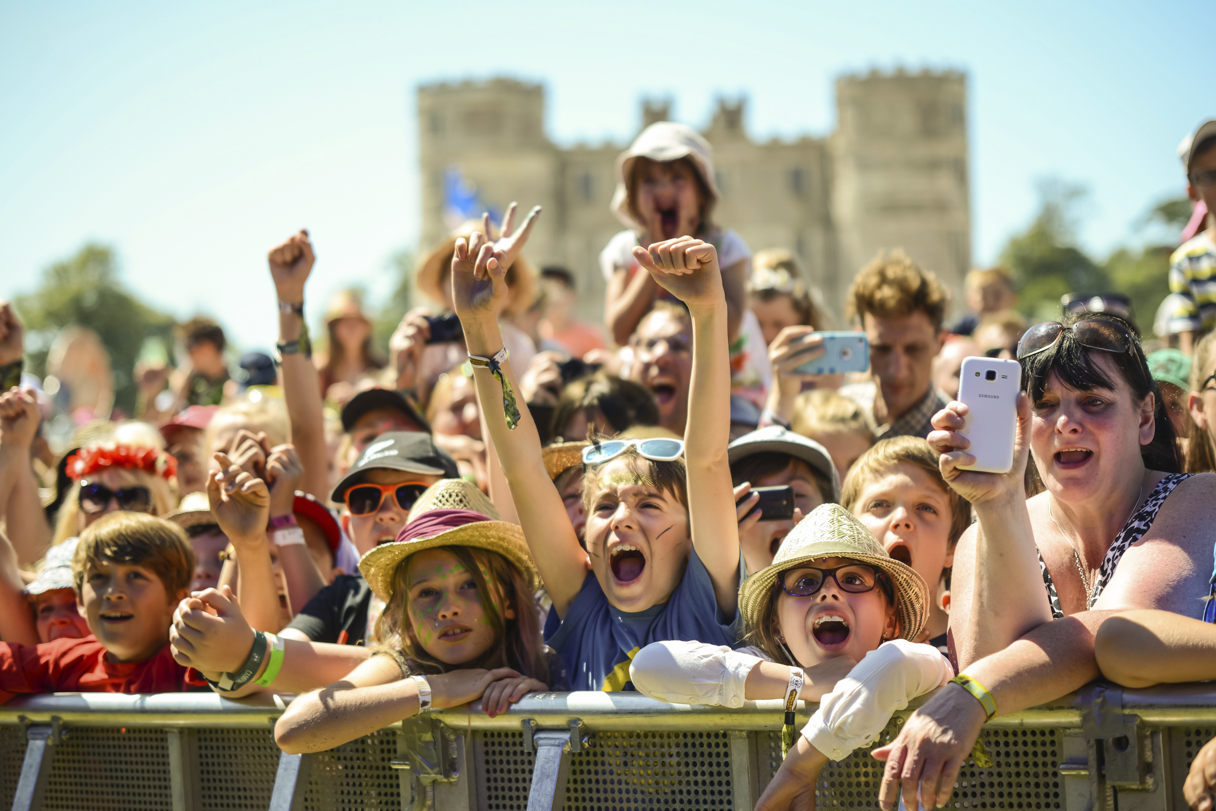 Kids at Camp Bestival