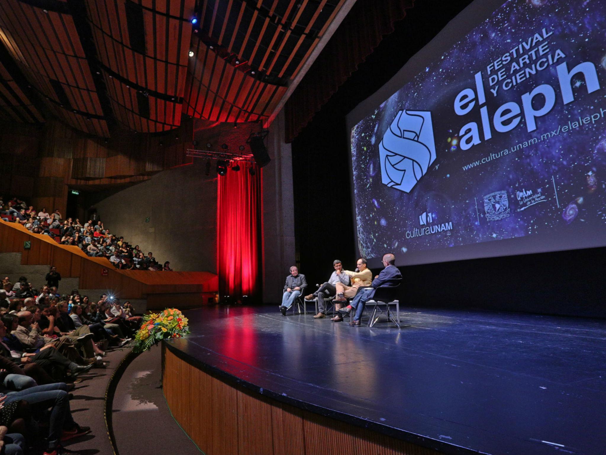 El Aleph. Festival de arte y ciencia de la UNAM