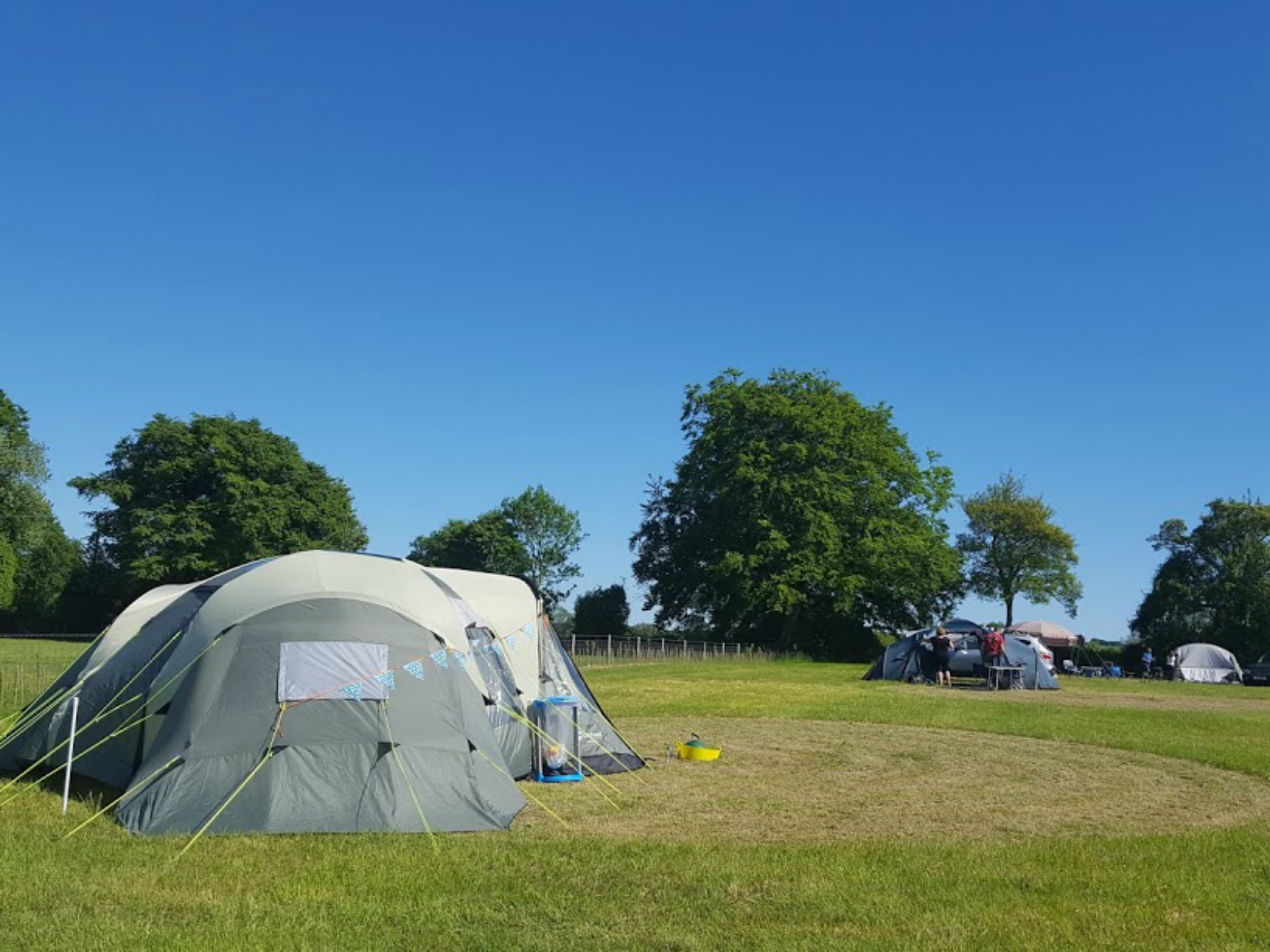 Tent in Grassy Field & Best Camping Near London | 16 Gorgeous Campsites Near London To ...