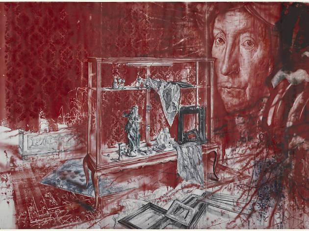 Julio Vaquero. Museo Robado
