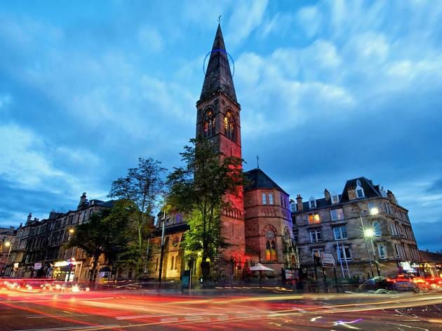 Òran Mór, Glasgow, for Schweppes campaign