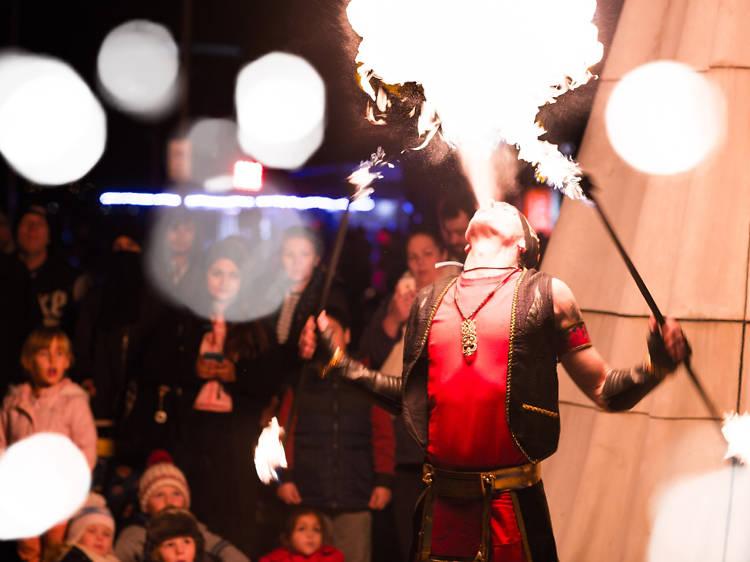 Firelight Festival Opening Weekend