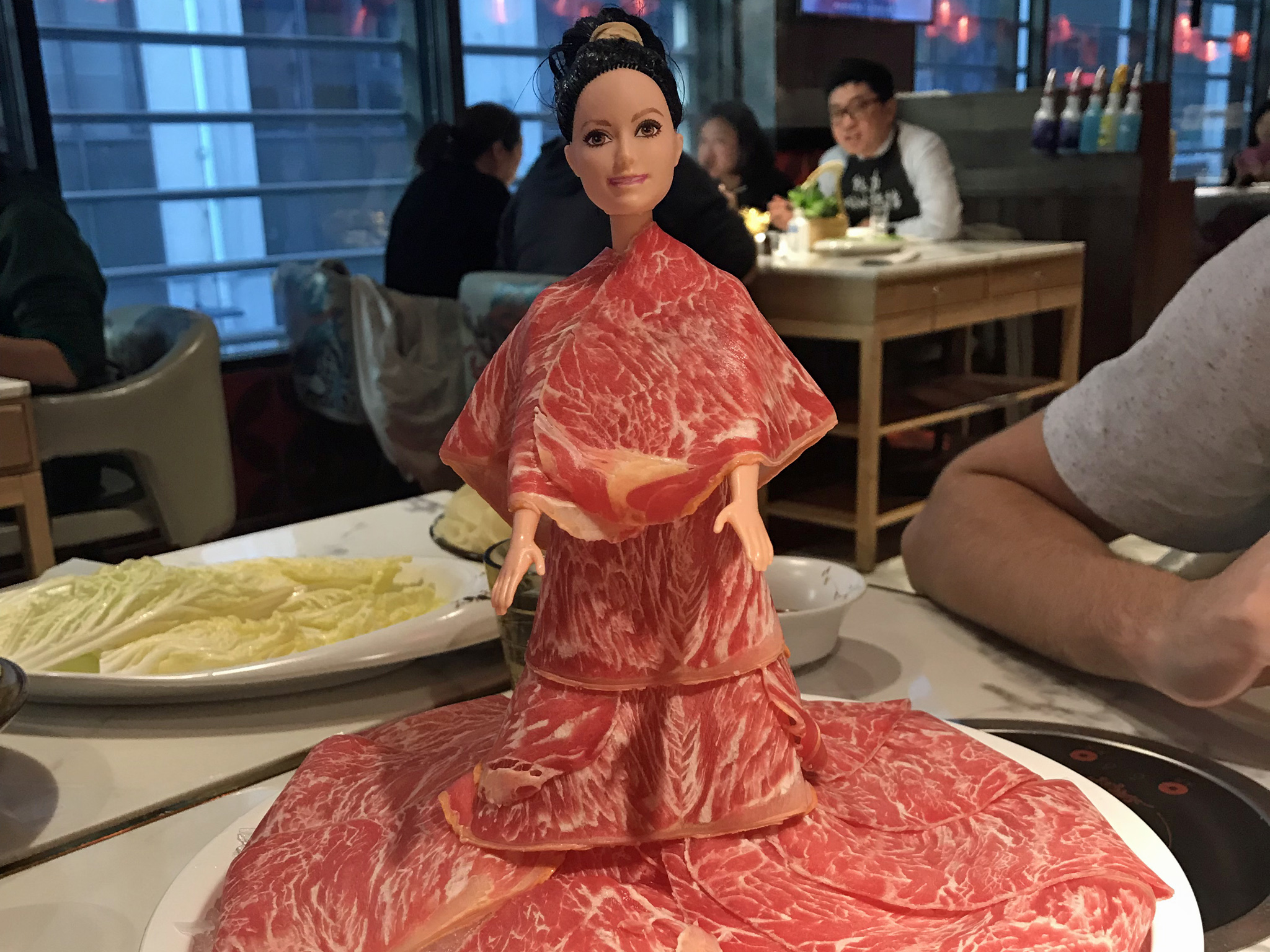 Meat Barbie at Spice World