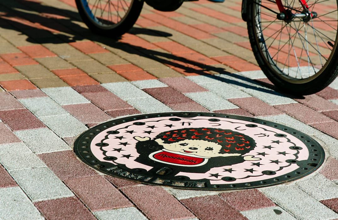 Amazing manhole covers in Tokyo