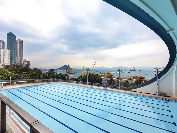堅尼地城游泳池