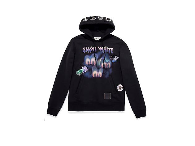Disney x Coach : A Dark Fairy Tale_black hoodie