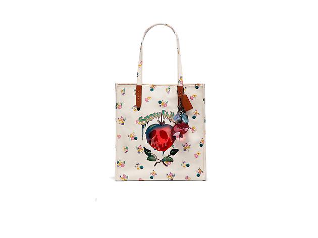 Disney x Coach : A Dark Fairy Tale_white tote bag