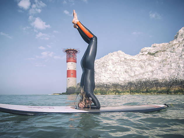 Best TTD Isle of Wight SUP Yoga