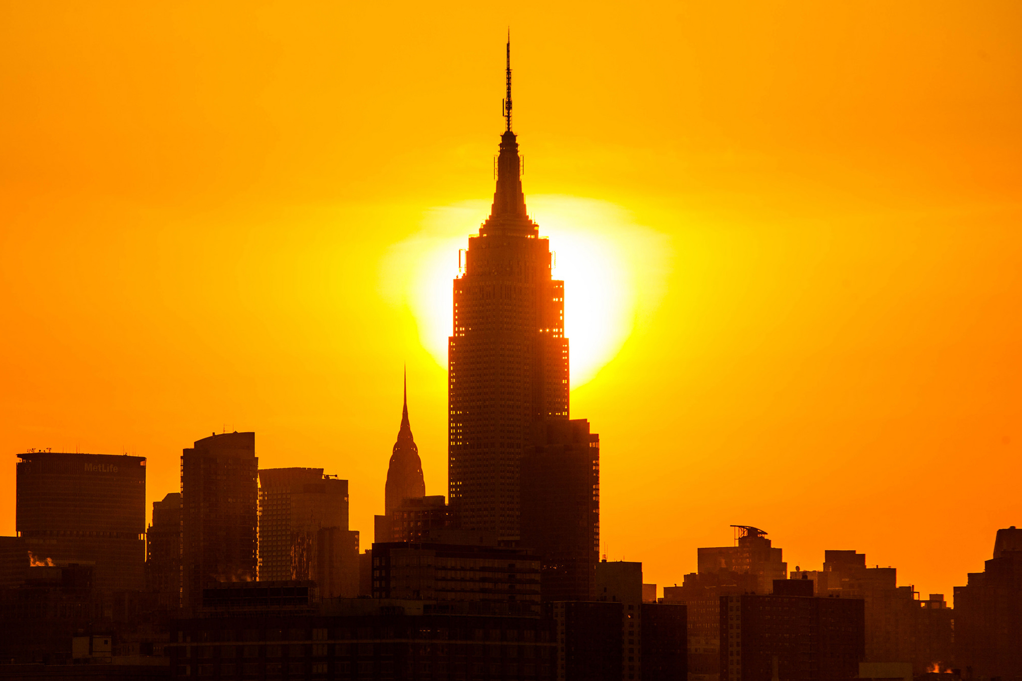 Starting this week, you can watch the sunrise from the Empire State Building