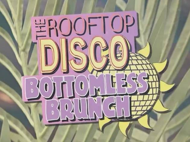 The Rooftop Disco Bottomless Brunch