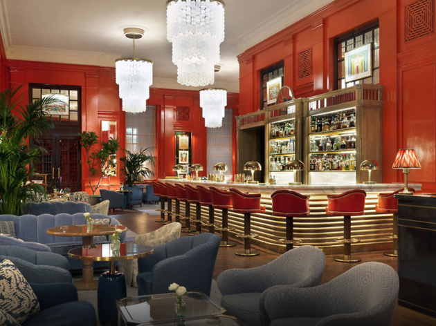 the coral room, best london bars for sparkling wine