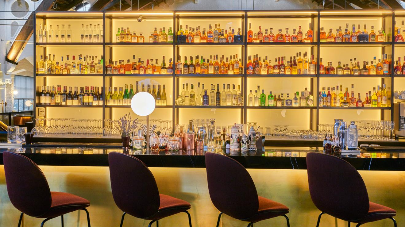 Meister Bar, sparkling wine bars london