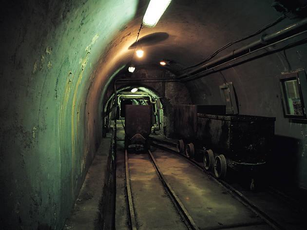 Visita a la mina Marcelo Jorissen