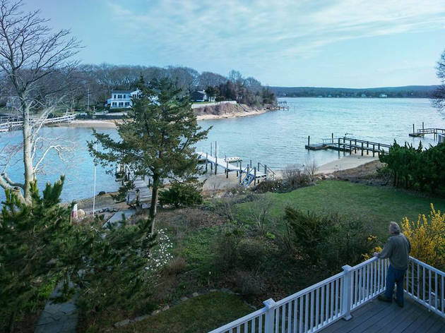 Waterfront Modernism In Sag Harbor Ny