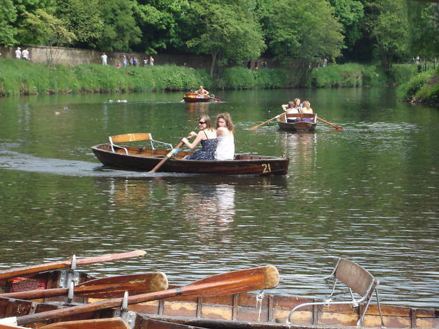 Best TTD Durham Browns Rowing Boats