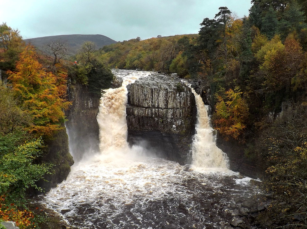 Best TTD Durham High Force Waterfall, from Wiki
