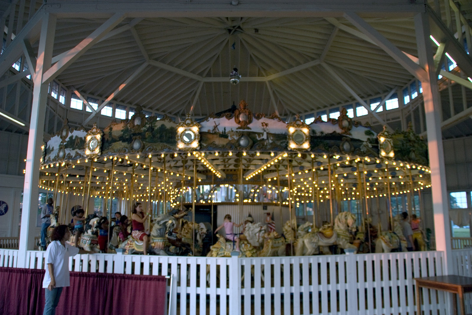 Lighthouse Point Park Carousel