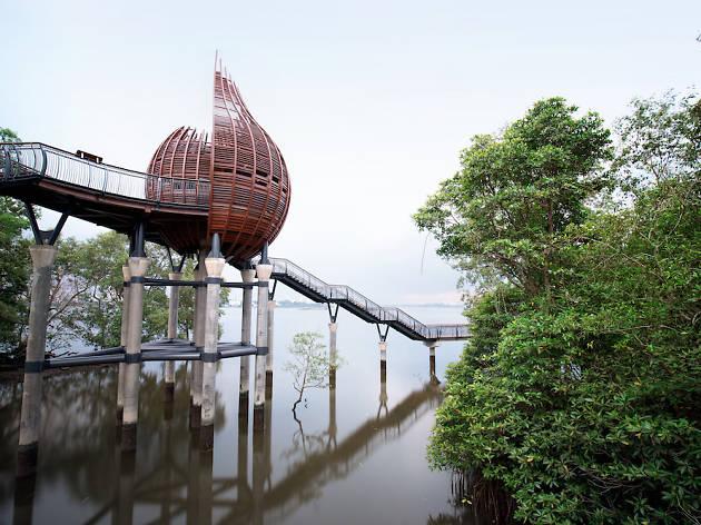 Sungei Buloh Observation Deck