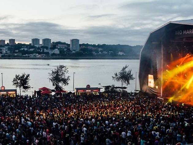 A Praia do Cabedelo recebeu o festival por dez anos.