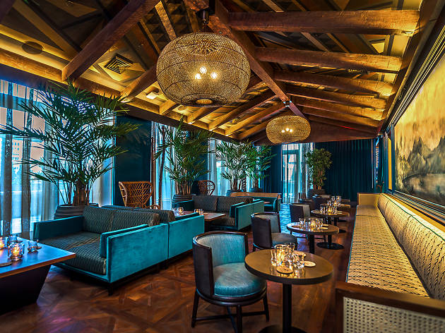 Take a peek inside midtown's gorgeous new tiki bar