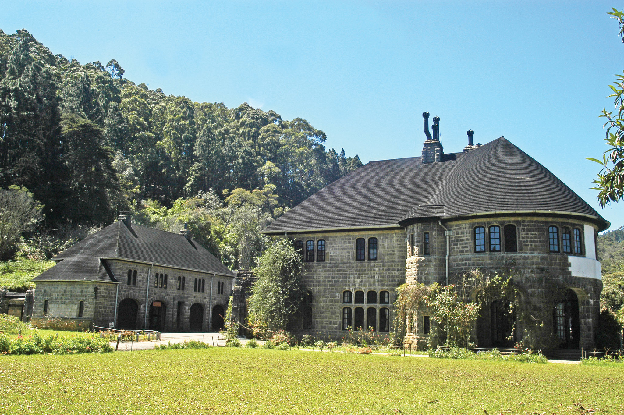 The Tudor style Adisham bungalow