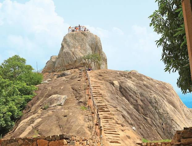 Mihintale in Anuradhapura, the cradle of Buddhism in Sri Lanka, is visited by devotees on Poson Poya.