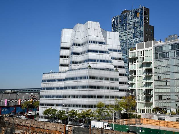 New York, NY,  October 18, 2017: --- Exterior views of IACHQ. © Audrey C. Tiernan