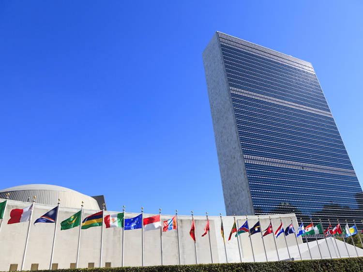 The U.N. Headquarters Building