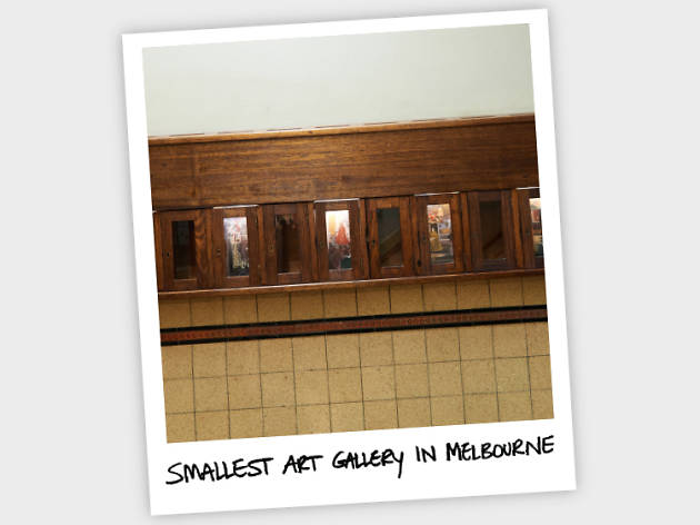 Smallest Art gallery in Melbourne
