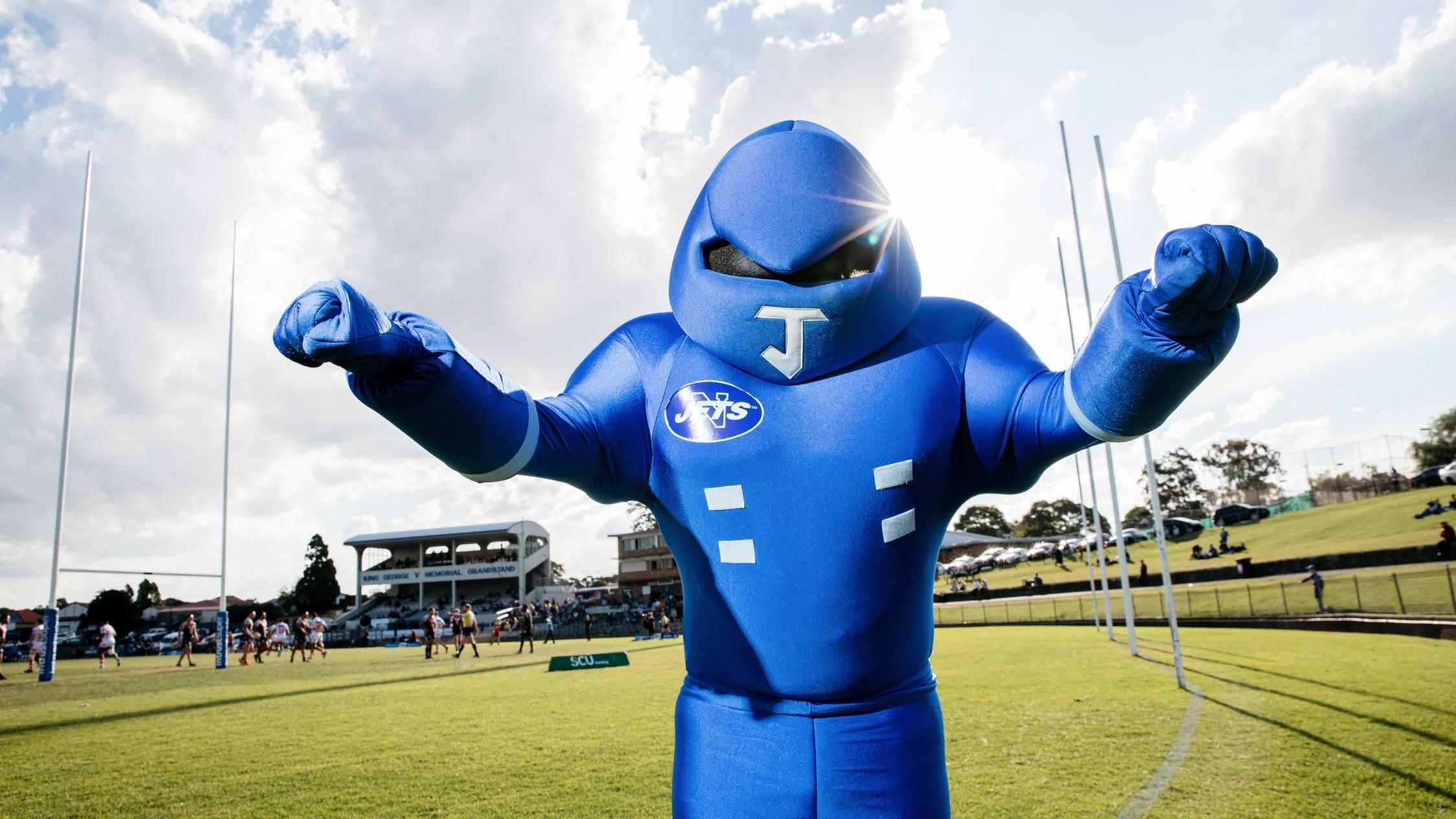 newtown jetts mascot