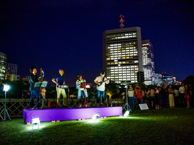 文化財でライトアップイベントが開催、ナイトタイムエコノミーの可能性を探る