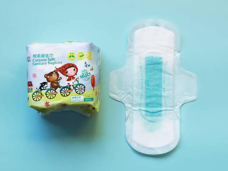 佳之選棉柔衛生巾(超薄日用 24cm)