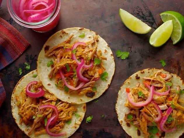 Taller de cocina mexicana creativa