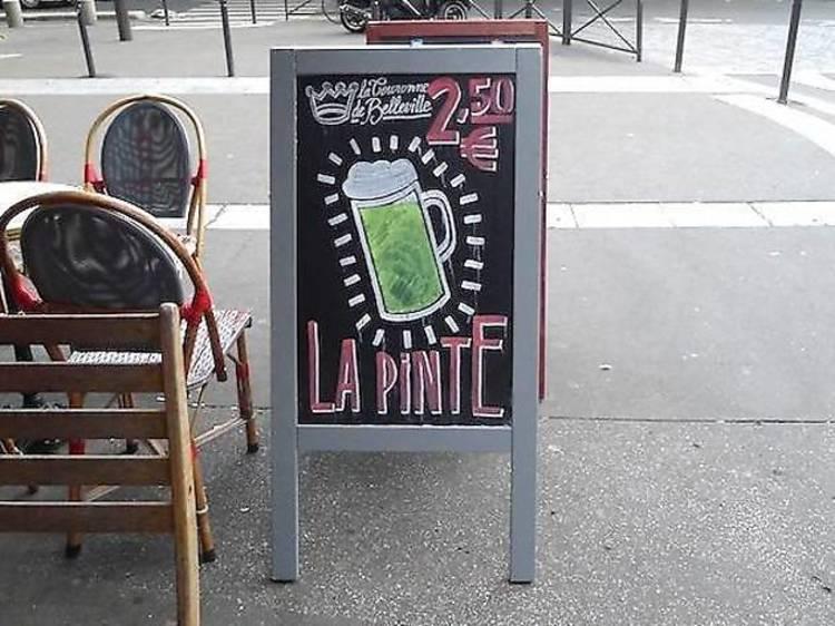 Les meilleurs bars pas chers à Paris