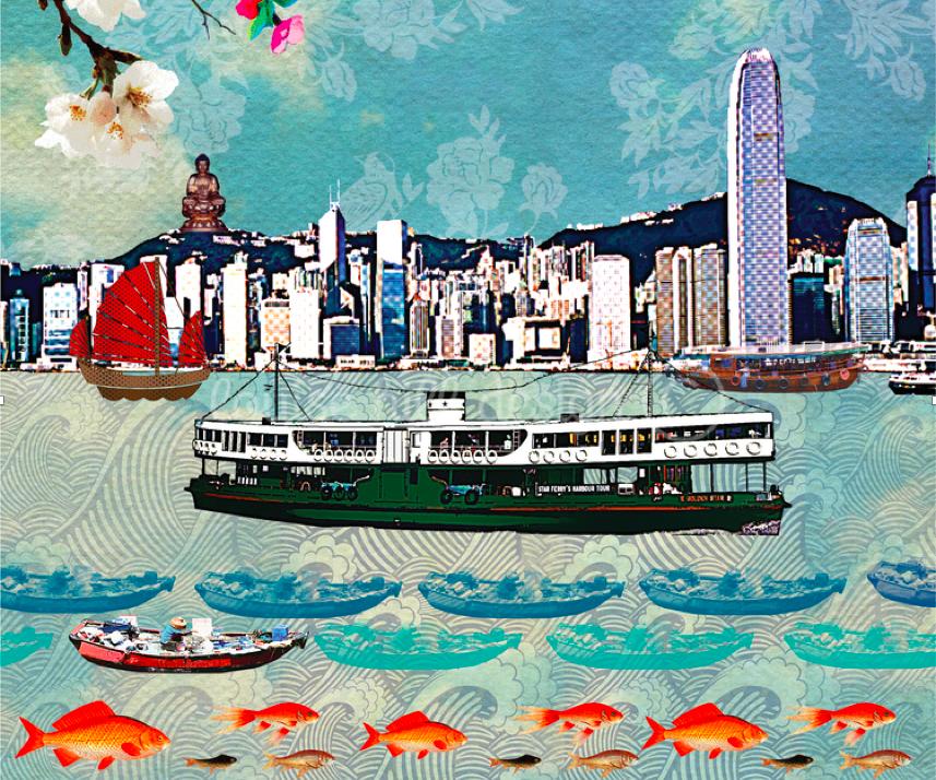 Louise Hill「We Love Hong Kong」展覽