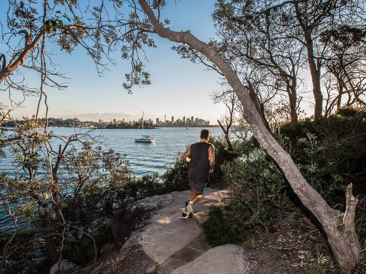 The most scenic running routes in Sydney