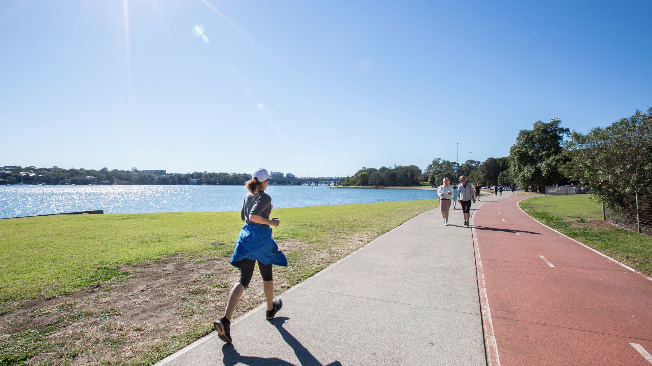 Iron Cove Bay running track