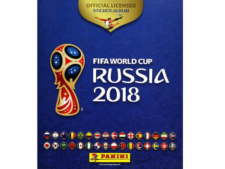 Álbum del Mundial Rusia 2018