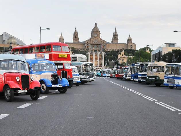 Ral·li Internacional d'autobusos clàssics Barcelona