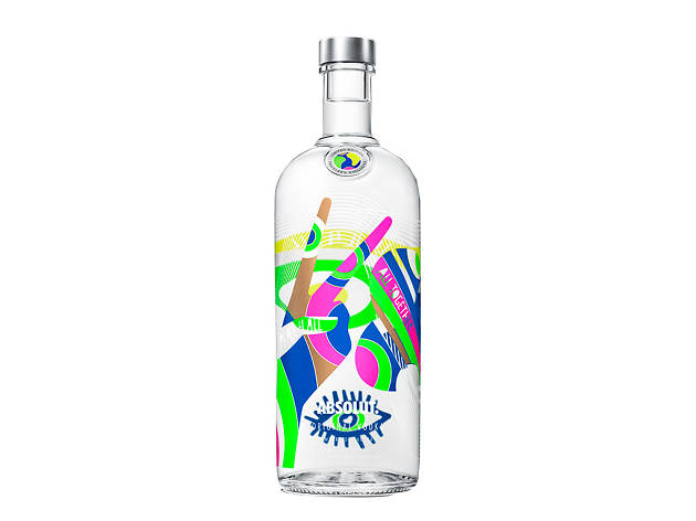 Absolut World bottle design
