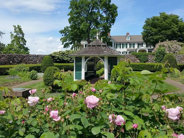 Beatrix Farrand Sunken Garden at the Hill-Stead Museum