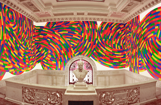 Interior of the Wadsworth Museum