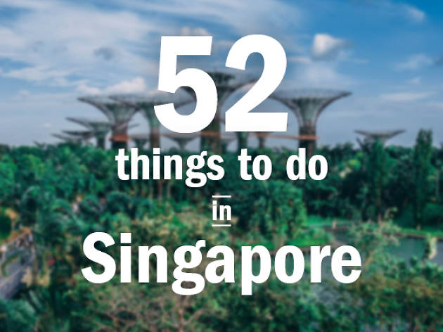 52 things to do in Singapore skyline