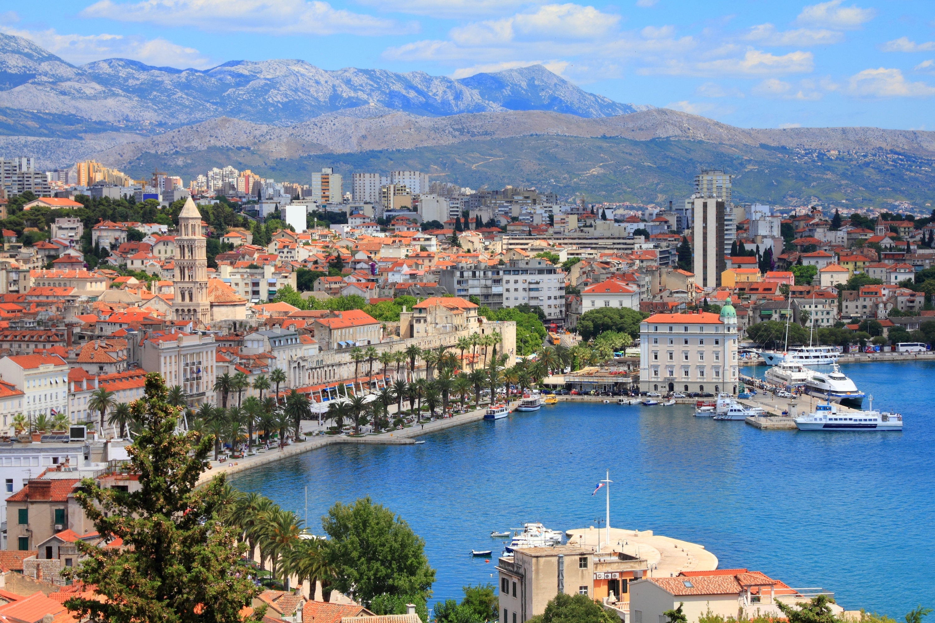 How to get from Zagreb to Split