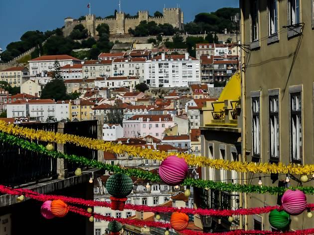 Festas de lisboa, arraial, arraiais, santos populares