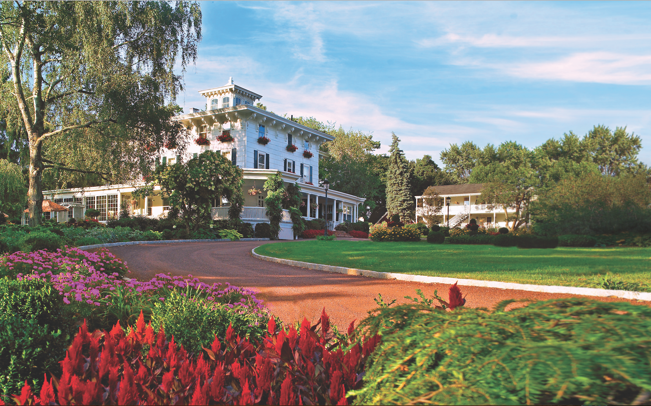 The most romantic hotels in the state
