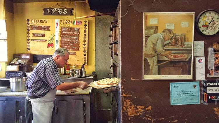 Domenico De Marco at Di Fara Pizza