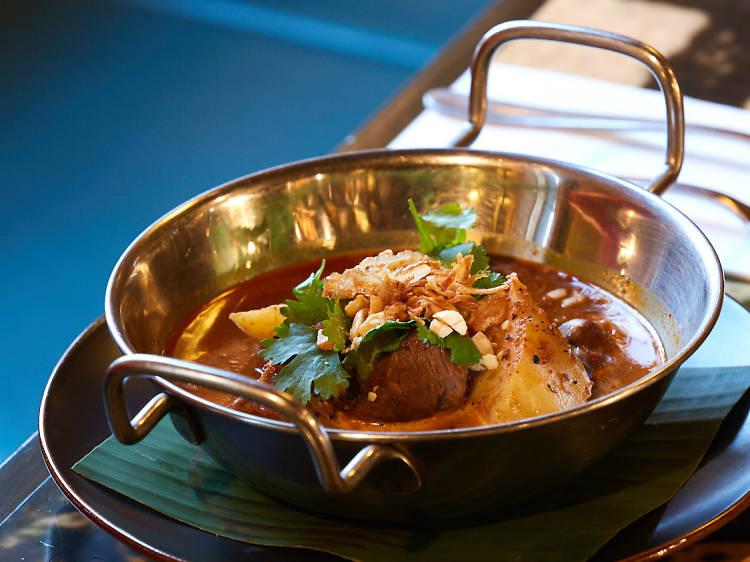 Massaman kae curry at Village People Hawker Food Hall