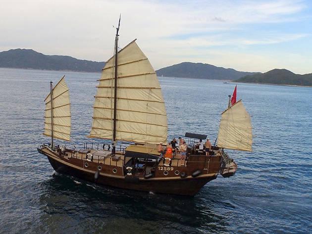 Saffron Cruises traditional junk